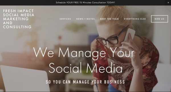Fresh Impact Social Media Marketing and Consulting
